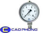 Đồng hồ đo áp suất wika toàn thân inox