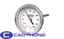 Đồng hồ đo nhiệt độ wika loại chân sau