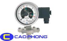 Đồng hồ đo áp suất WIKA 3 Kim Màng
