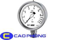 Đồng hồ đo áp suất WISE toàn thân inox
